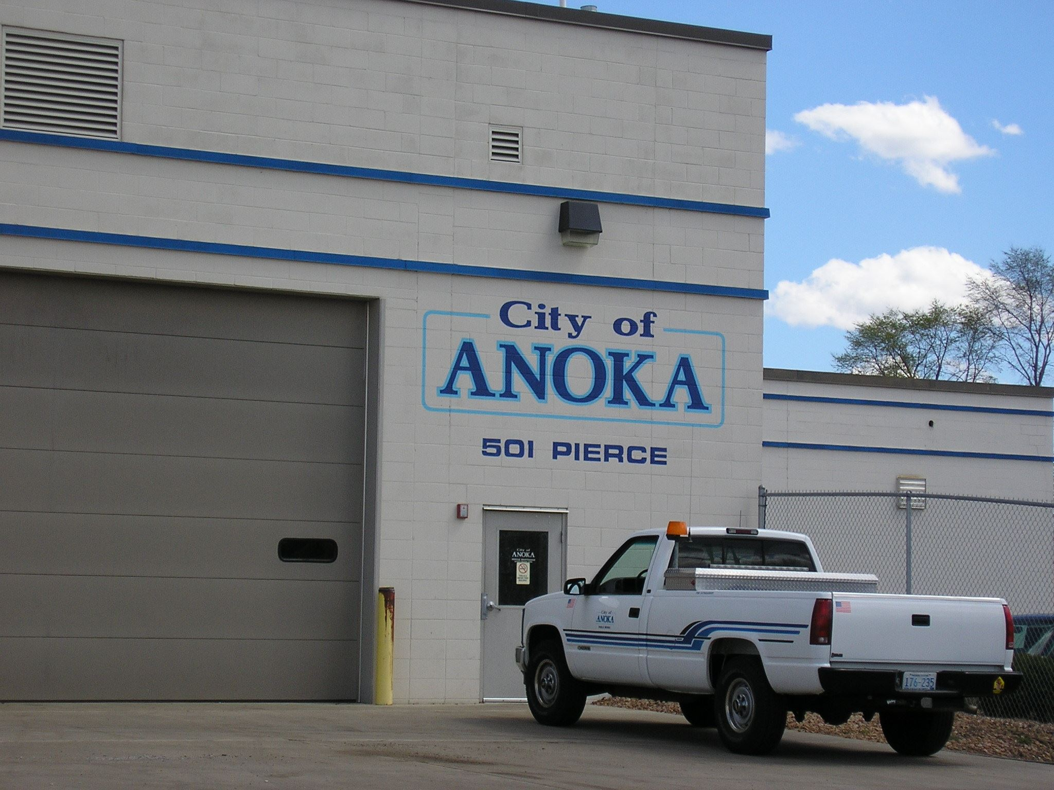 City of Anoka Service Station